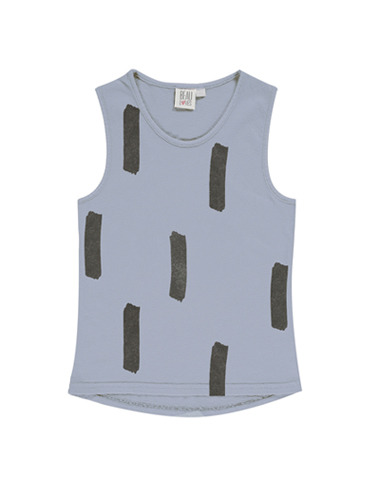 Racer Vest (Chalk Blue, Paintbrush)