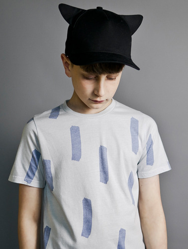 Short Sleeve Fin T Shirt ( 4/5 last )