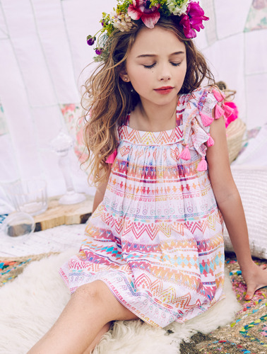 Chloe Dress Rainbow Dream Catcher