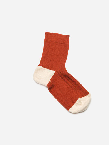 CHAUSSETTES (ROUGE POPPY RED)
