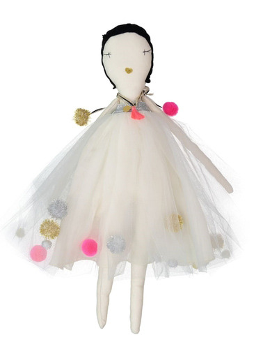 JESS BROWN + AETA DOLL - LES PONPOMS DRESS iN SiLVER