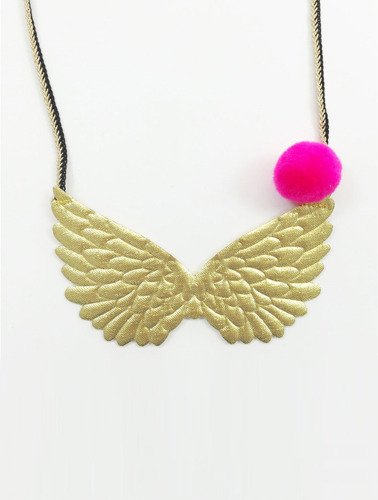 PEGASUS NECKLACE-GOLD