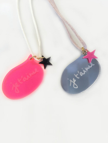 JE T'AiME STAR NECKLACE