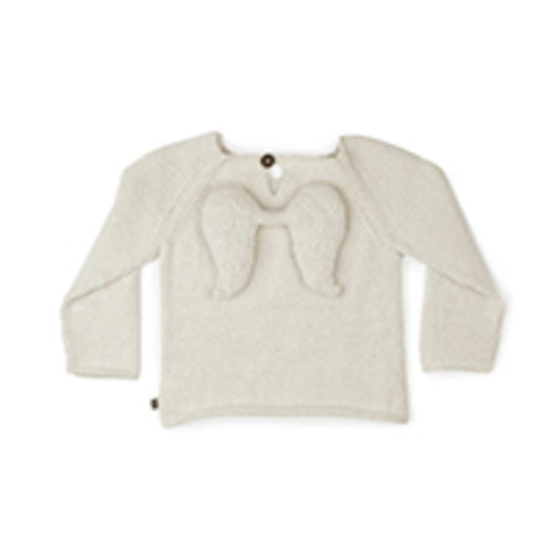 angel sweater white