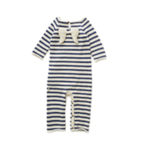 angel jumper indigo stripes