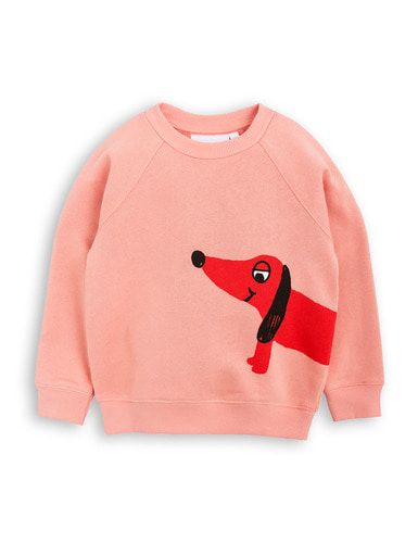 dog sp sweatshirt pink