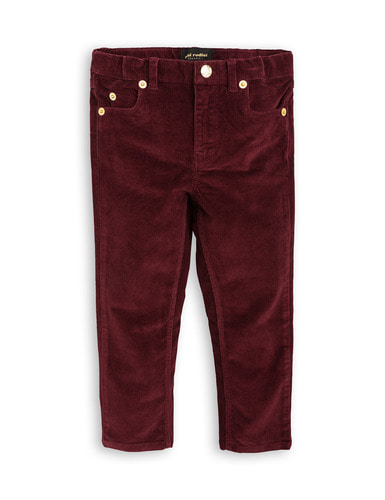 dog cord tiger fit burgundy