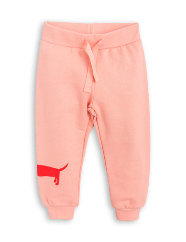dog sp sweatpants pink