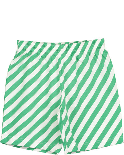 Shorts	Vanilla	Diagonal Stripes AOP	(Green)