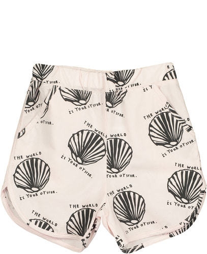 Cotton SOS Shorts	Chalk Blush