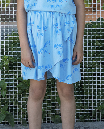 F-209 SKIRT ALASKAN BLUE