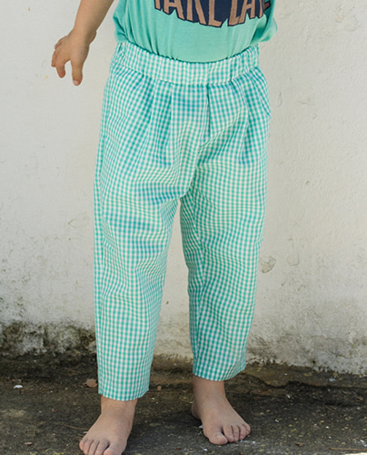 F-220  PANTS POOL GREEN