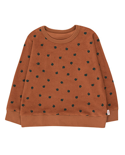 SMALL APPLES SWEATSHIRT_brown