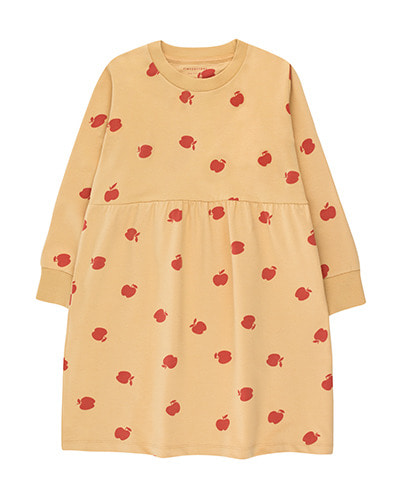 APPLES DRESS_sand ( 2Y,4Y,6Y )