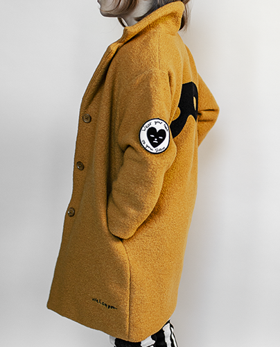 Wool Coat_Dark Camel ( 4-5y, 6-7y )
