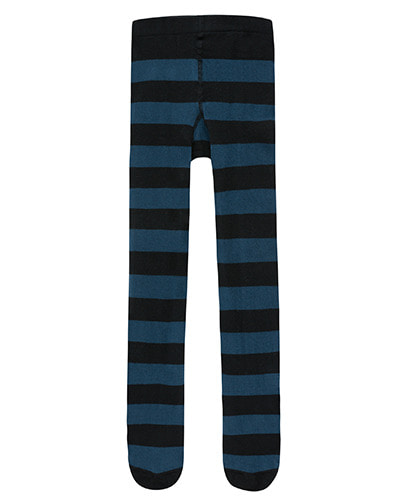 STRIPES TIGHTS_true navy/black ( 2Y, 6Y, 8Y )