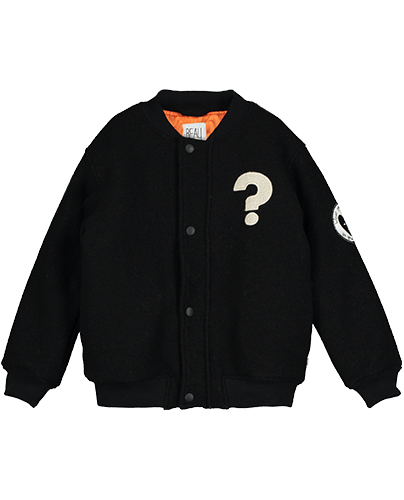 Bomber Wool Jacket_Black