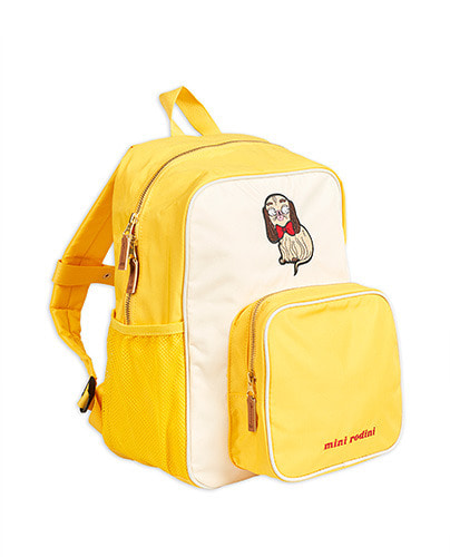 Dashing dog school bag_Yellow