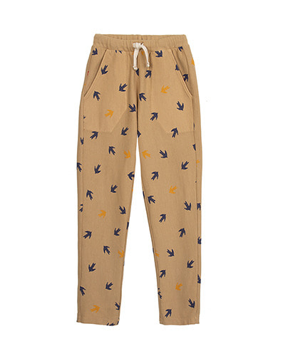 BASIC TROUSERS_SWALLOW_CAMEL ( 6Y last )