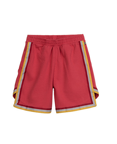 SHORTS SIDE STRIPES_MAGENTA