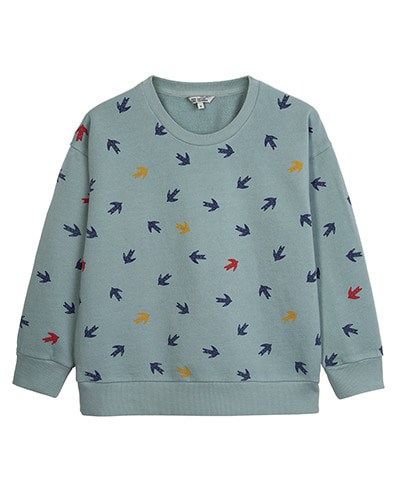 PRINTED SWEATSHIRT_SWALLOW_STONE