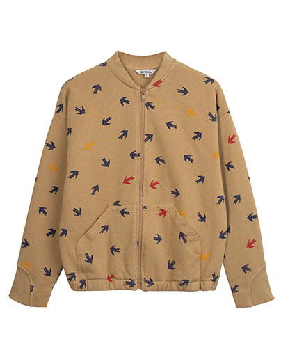 BOMBER JACKET_SWALLOW_CAMEL