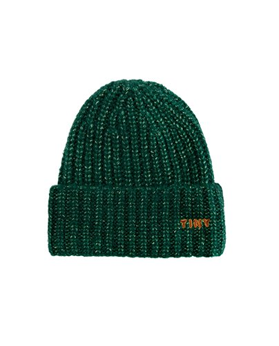 """TINY"" BEANIE_dark green (DROP2)"