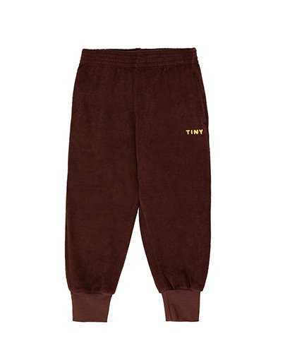 """TINY"" SWEATPANT_ultra brown ( 4Y last )"