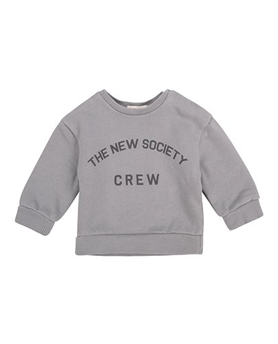 THE NEW SOCIETY CREW (BABY) SWEATER_SOFT BLUE (DROP4)