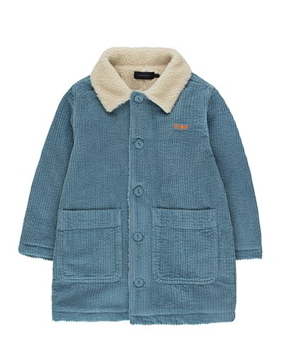 """TINY"" SOLID OVER-SHIRT_sea blue ( 8Y last )"