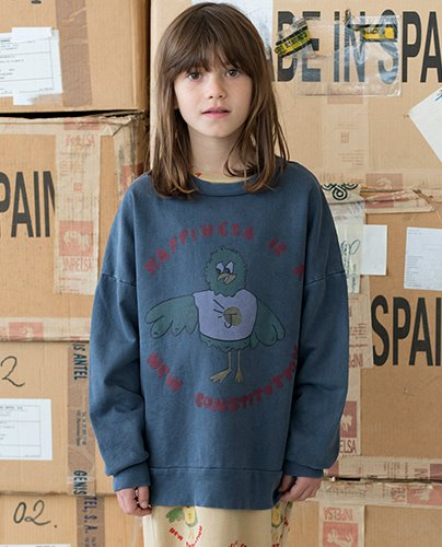 HAPPINESS SWEATSHIRT_Nightshadow Blue