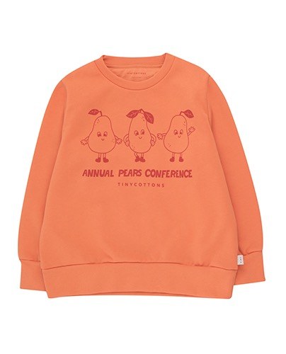 """PEARS CONFERENCE"" SWEATSHIRT_peachy red (DROP2)"