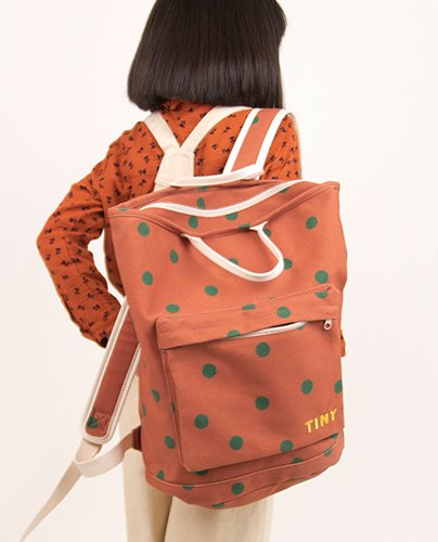 """BIG DOTS"" TOTEPACK_sienna (DROP3)"