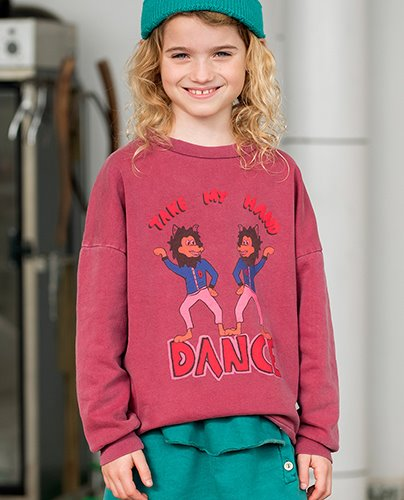 TAKE MY HAND SWEATSHIRT_Hawthorn Rose ( 8Y, 10Y )