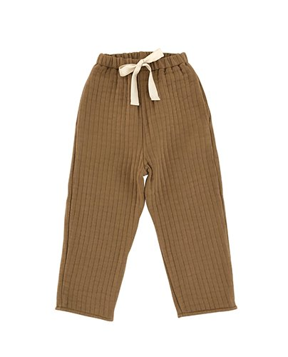 Quilted Pants_Camel ( 2Y, 8Y )