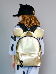 Backpack with ears (Gold)