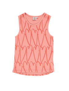 Racer Vest (Coral, Lovehearts)
