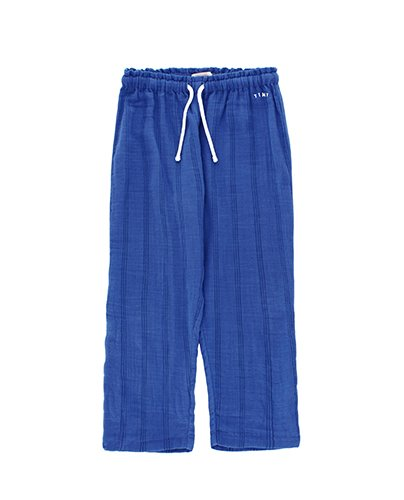 STRIPES STRAIGHT PANT_iris blue (DROP4)