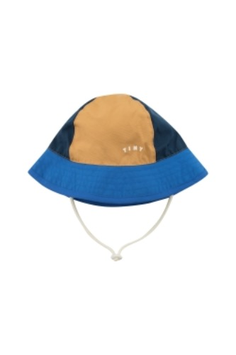 TINY COLOR BLOCK BUCKET HAT_ink blue (DROP2)
