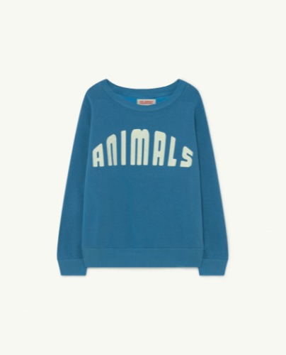 BEAR KIDS+ SWEATSHIRT Blue Animals
