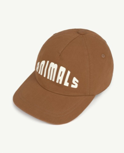 HAMSTER KIDS CAP Brown Animals OS