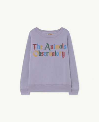 BEAR KIDS+ SWEATSHIRT Soft Purple The Animals